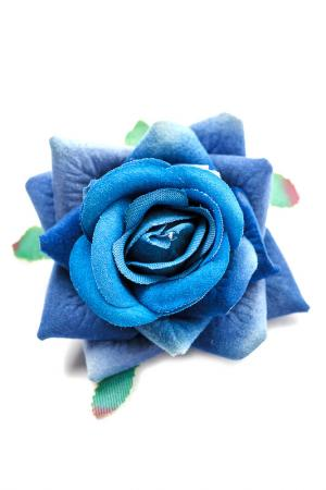 Заколка и ободок в подарок TELLE QUELLE. Цвет: синий