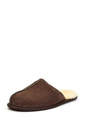 Тапочки UGG Australia. Цвет: коричневый