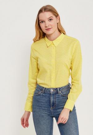 Рубашка United Colors of Benetton. Цвет: желтый