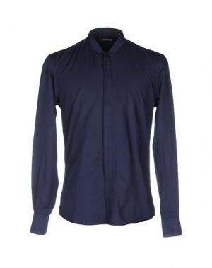 Pубашка NINEMINUTES. Цвет: темно-синий