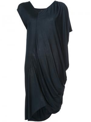 Asymmetric draped top Zero + Maria Cornejo. Цвет: чёрный