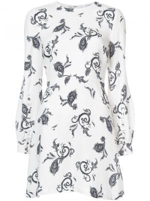 All-over print dress A.L.C.. Цвет: белый