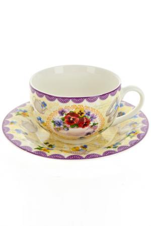 Чайный набор 12пр, 230 мл Nouvelle. Цвет: мульти