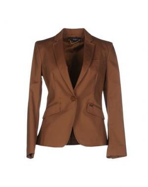 Пиджак CARLA MONTANARINI. Цвет: верблюжий