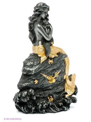 Часы Русалка и дитя Veronese. Цвет: темно-серый, золотистый