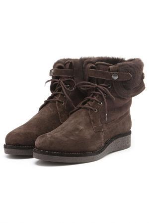Ботинки Zamagni. Цвет: коричневый
