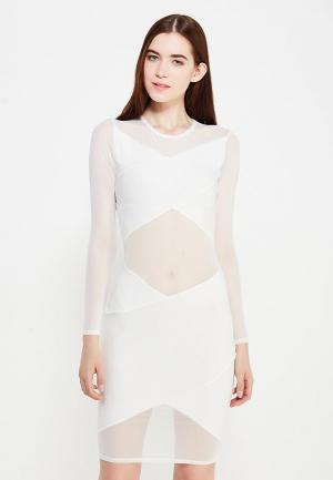 Платье Edge Street. Цвет: белый
