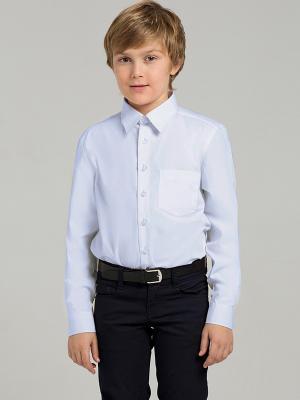 Рубашка Sabotage. Цвет: голубой