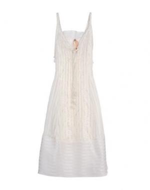 Длинное платье N° 21. Цвет: белый