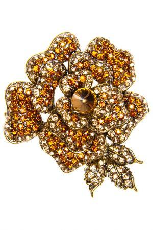 Brooch BELLA ROSA. Цвет: gold
