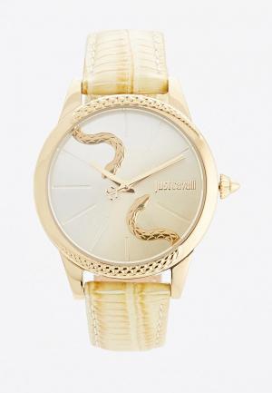Часы Just Cavalli. Цвет: желтый