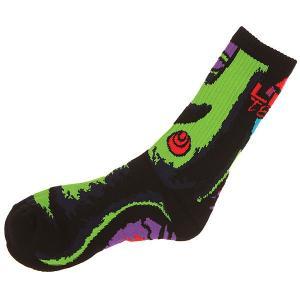 Носки высокие  Green Girl Sock Bd Black Lib Tech. Цвет: черный