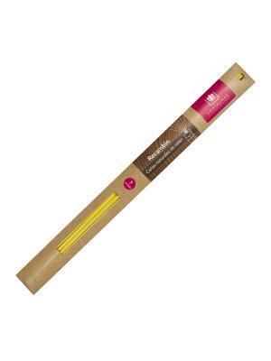 Cristalinas Natural Wood Палочки ротанговые желтые 7 шт. Цвет: прозрачный