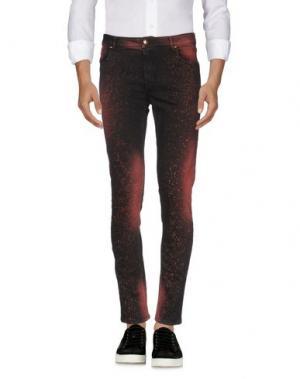 Джинсовые брюки TOM REBL. Цвет: пастельно-розовый
