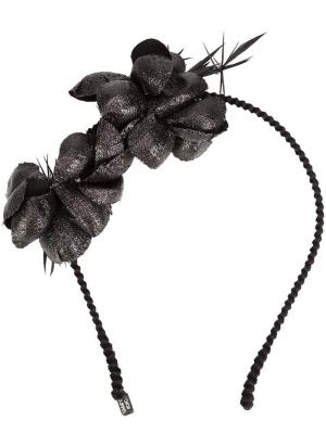 Alchemia head band Gigi Burris Millinery. Цвет: чёрный