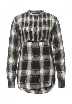 Рубашка Denim & Supply Ralph Lauren. Цвет: черно-белый