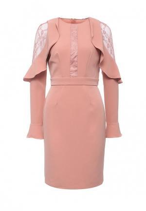 Платье Zarina. Цвет: коралловый