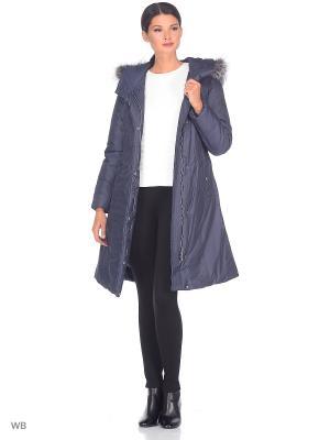 Пальто CAMEO AVI. Цвет: серо-голубой