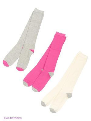 Носки, 3 пары United Colors of Benetton. Цвет: лиловый, серый