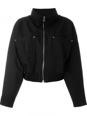 Куртка-бомбер с воротником-стойкой J.W.Anderson. Цвет: чёрный