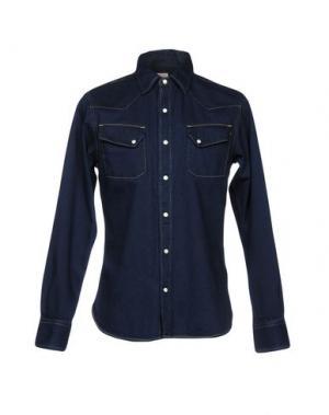 Джинсовая рубашка KAPITAL. Цвет: синий