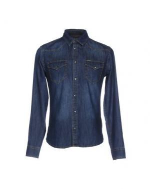 Джинсовая рубашка LIU •JO JEANS. Цвет: синий