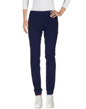Повседневные брюки APPARTAMENTO 50. Цвет: темно-синий