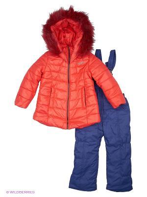 Комплект одежды Goldy. Цвет: красный, синий