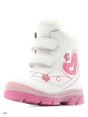 Ботинки PAFI. Цвет: белый