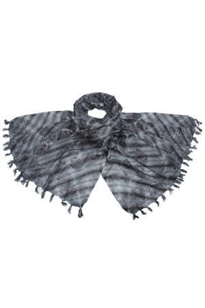 Парео ETHNICA. Цвет: серый, черный