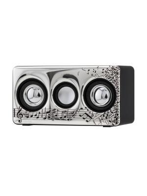 Громкоговоритель для усиления звука на смартфоне NAVELL. Цвет: черный, серебристый