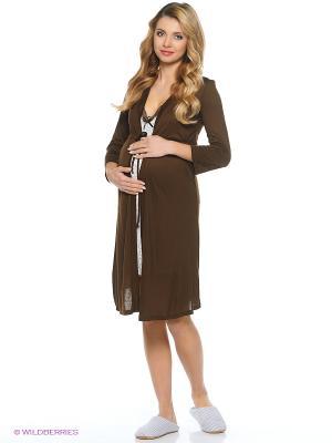 Комплект одежды Hunny Mammy. Цвет: коричневый, молочный