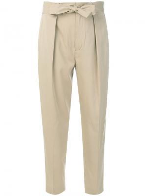 Прямые брюки Polo Ralph Lauren. Цвет: телесный