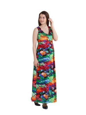 Платье макси для беременных impressmama
