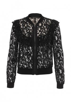 Куртка BCBGMAXAZRIA. Цвет: черный