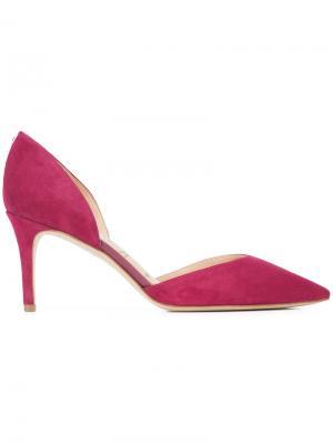 Замшевые туфли Sam Edelman. Цвет: розовый и фиолетовый