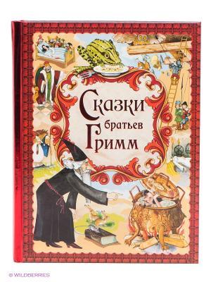 Книга Сказки братьев Гримм Эксмо. Цвет: красный