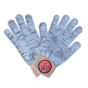 Перчатки  Medusa Touchgloves Light Blue TrueSpin. Цвет: голубой,бежевый