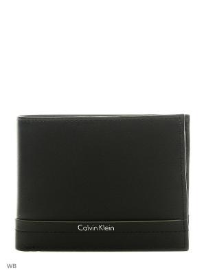 Кошелек Calvin Klein. Цвет: черный
