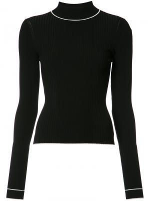 Блуза Bianca Misha Nonoo. Цвет: чёрный