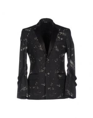 Пиджак YOON. Цвет: стальной серый