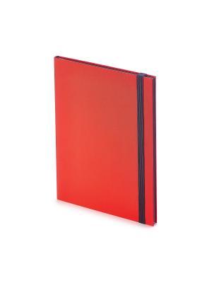 Еженедельник в5 tango (красный) Bruno Visconti. Цвет: красный