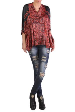 Рубашка JUNONA. Цвет: красный