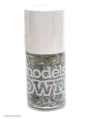 Лак для ногтей, Nail Polish Sparkler Models Own. Цвет: серебристый
