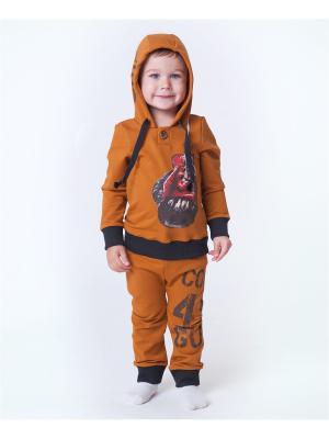 Комплект одежды VATAGA. Цвет: горчичный