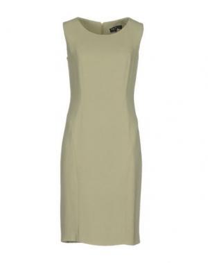 Платье до колена IVAN MONTESI. Цвет: светло-зеленый