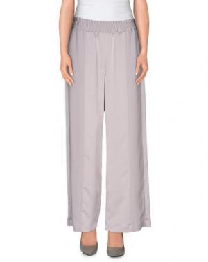 Повседневные брюки CHLOTILDE. Цвет: серый