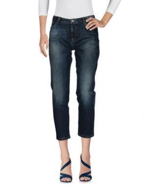 Джинсовые брюки HEAVY PROJECT. Цвет: синий