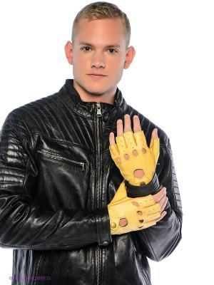 Перчатки Dali Exclusive. Цвет: желтый, красный