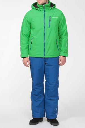 Горнолыжный костюм CRUSH Five seasons. Цвет: зеленый